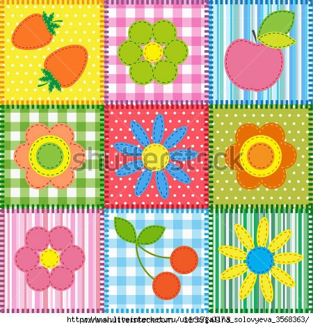 stock-photo-patchwork-with-flowers-cherry-apple-and-strawberry-raster-version-113514973 (450x470, 209Kb)