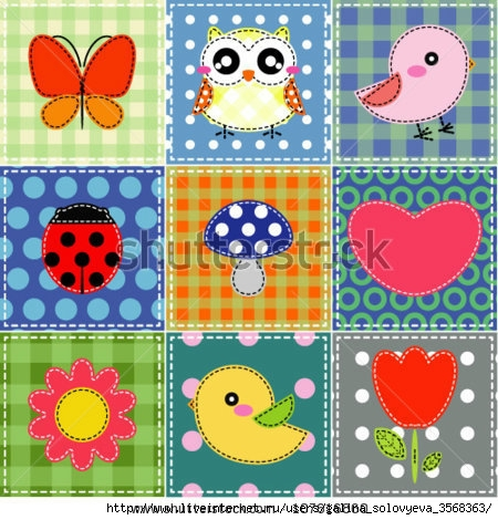 stock-vector-background-with-heart-flower-mushrooms-butterfly-and-birds-107616860 (450x470, 186Kb)