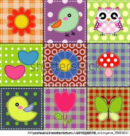 stock-vector-background-with-heart-flower-mushrooms-butterfly-and-birds-107616878 (450x470, 193Kb)
