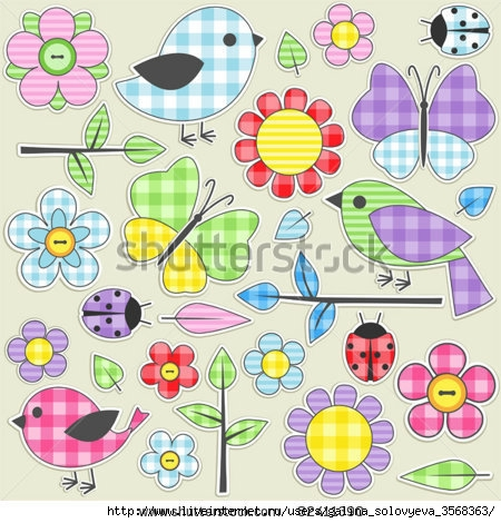 stock-vector-nature-textile-stickers-set-of-82411390 (450x470, 170Kb)