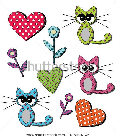 stock-vector-set-of-cute-kitten-icons-125994146 (393x470, 127Kb)