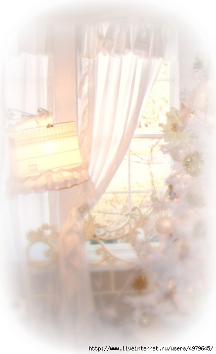 Shabby Chic White Curtain (427x700, 139Kb)
