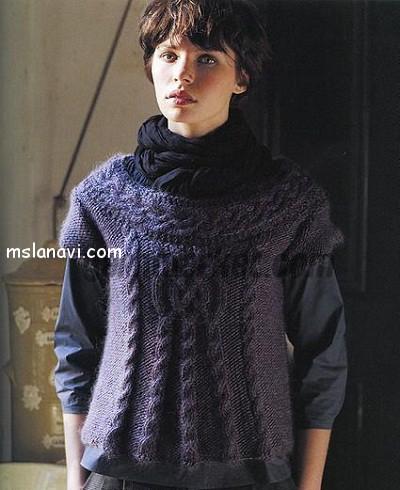 Пуловеры-с-центральной-косой (400x490, 62Kb)