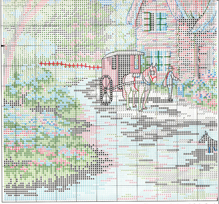 Stitchart-The-Postman3 (700x651, 962Kb)
