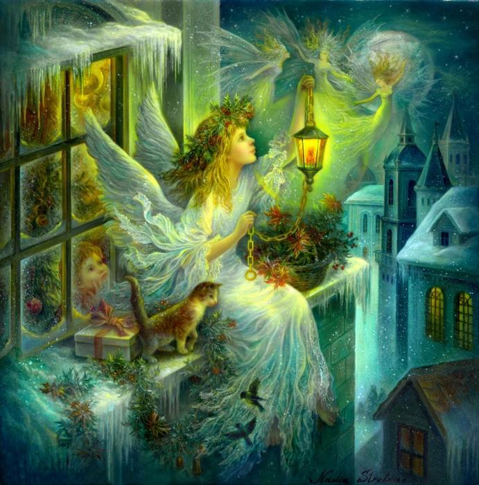 Картинки летят на небе ангелы надежды