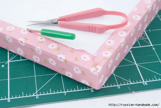 Коробочка для чайных пакетиков. Пэчворк без иголки (9) (533x357, 106Kb)