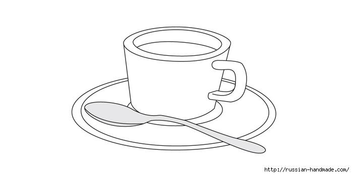 Коробочка для чайных пакетиков. Пэчворк без иголки (13) (698x348, 50Kb)