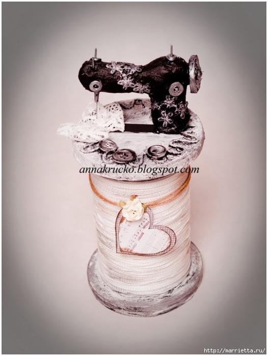 Катушка со швейной машинкой - подарок для бабушки) (35) (526x700, 184Kb)