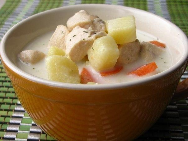 Сырный суп (604x453, 45Kb)