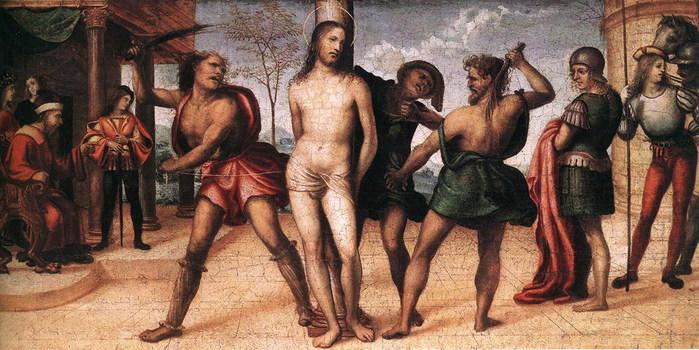 Бичевание Христа Flagellation  of Christ (700x350, 106Kb)