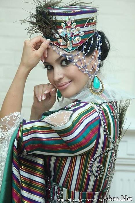 Национальные платья узбеков