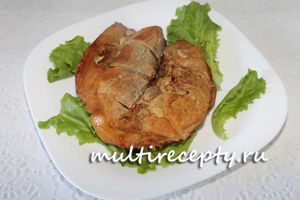 Приготовить свинину в мультиварке куском в