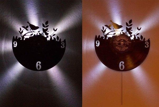 часы из виниловой пластинки (6) (604x408, 146Kb)