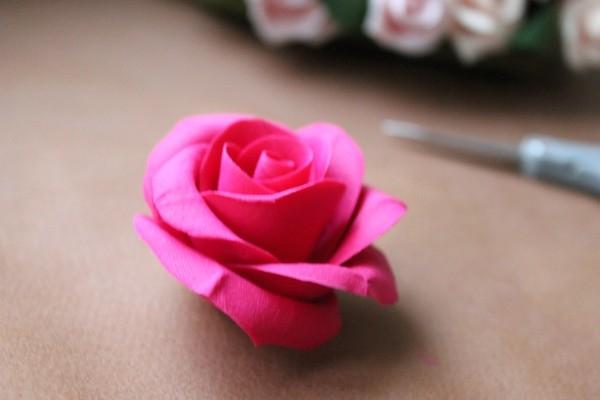 Розы из полимерной глины. СЕРДЦЕ ИЗ РОЗ (23) (600x400, 88Kb)