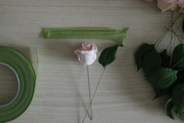 Розы из полимерной глины. СЕРДЦЕ ИЗ РОЗ (38) (600x400, 85Kb)