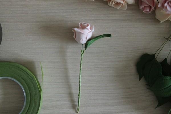 Розы из полимерной глины. СЕРДЦЕ ИЗ РОЗ (40) (600x400, 103Kb)
