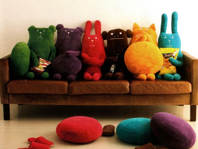 Дизайнерские игрушки своими руками