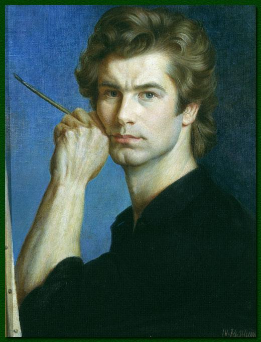 1 Автопортрет, 1974г. (520x680, 71Kb)