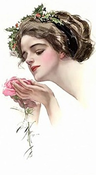 LADY WITH  ROSE -1[5] (194x354, 38Kb)
