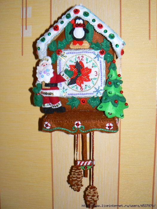Часы с кукушкой своими руками из подручных материалов фото