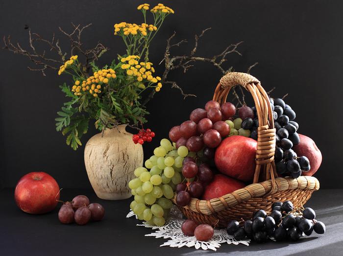 цветы и фрукты 9 (700x523, 548Kb)