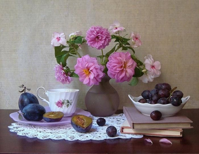 цветы и фрукты 14 (700x542, 404Kb)