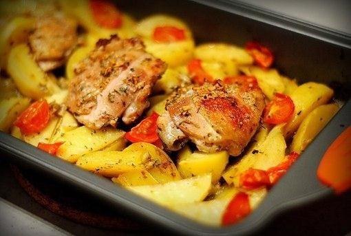 маринованная курица с картошкой (510x343, 109Kb)