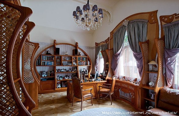 Interior In Art Nouveau Style