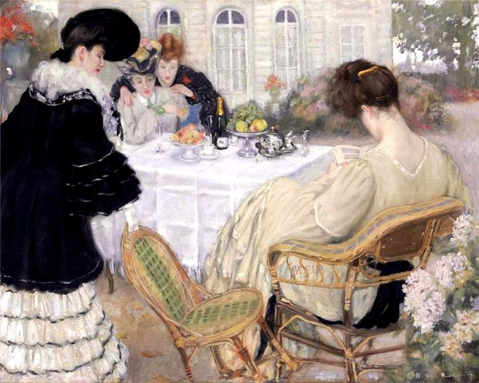1ladies-taking-tea-1902-henry-caro-delvaille (700x560, 83Kb)