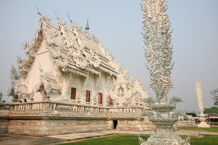 белый храм таиланд фото 11 (700x466, 361Kb)
