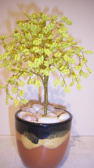 Бисерные деревья самое интересное в