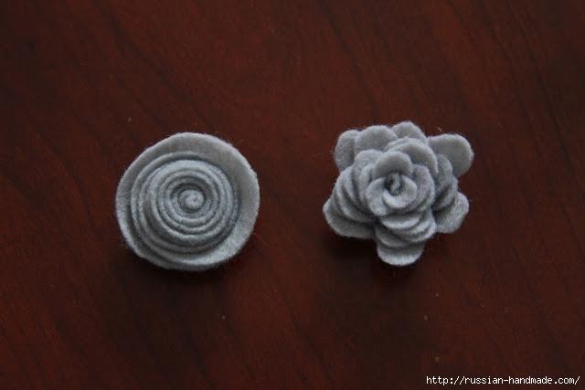 Венок из пряжи и цветочков из вискозных салфеток (22) (640x427, 115Kb)