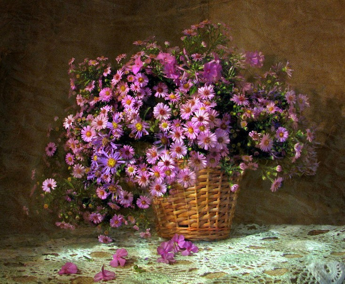 цветы и корзина 7 (700x576, 532Kb)