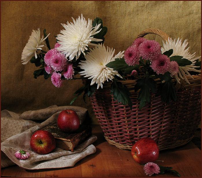цветы и корзина 9 (700x617, 581Kb)