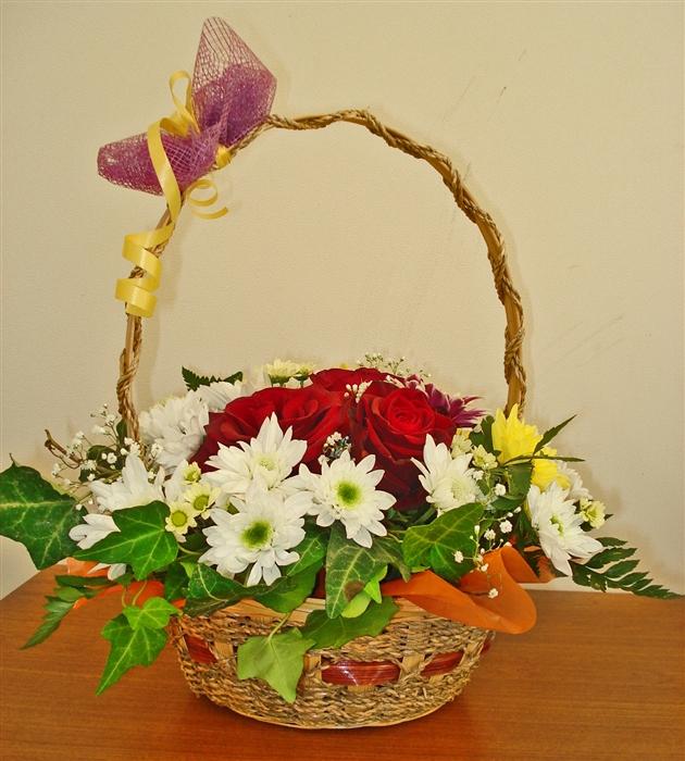цветы и корзина 14 (630x700, 480Kb)