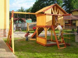 Игровые комплексы, что дают детям полную свободу действий.