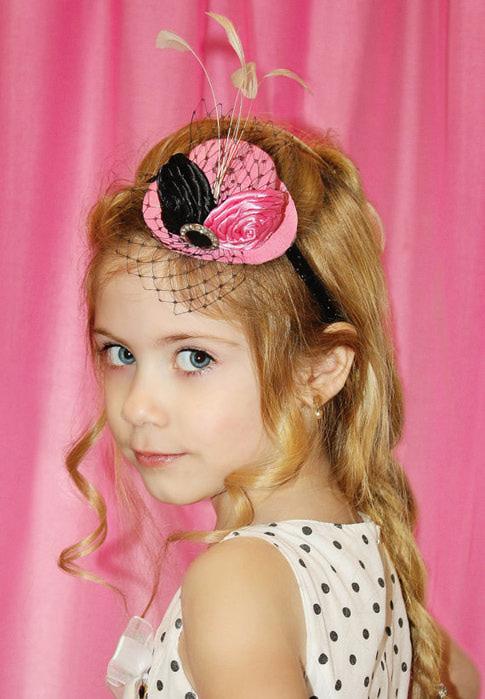 Шляпки своими руками заколки для девочек