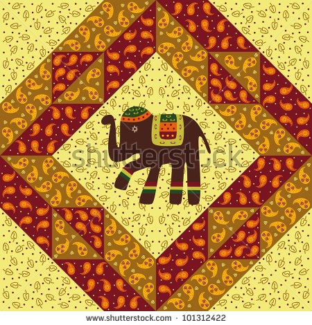 stock-vector-patchwork-pattern-with-elephant-101312422 (450x470, 268Kb)