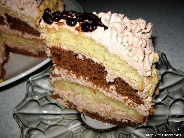 """Торт к чаю """"На скорую руку"""""""