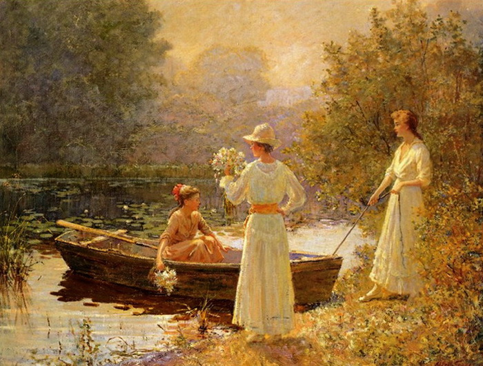 afternoon-at-the-pond-abbott-fuller-graves-american-painter_thumb (700x531, 182Kb)