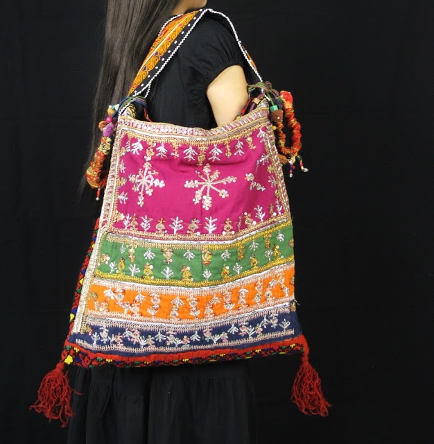 Multi Color HIppie BoHO Bag 2 (626x640, 234Kb)