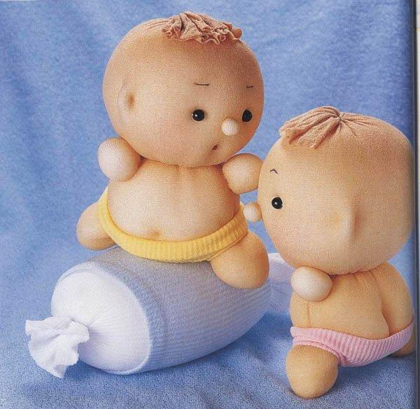 Кукла из носок своими руками