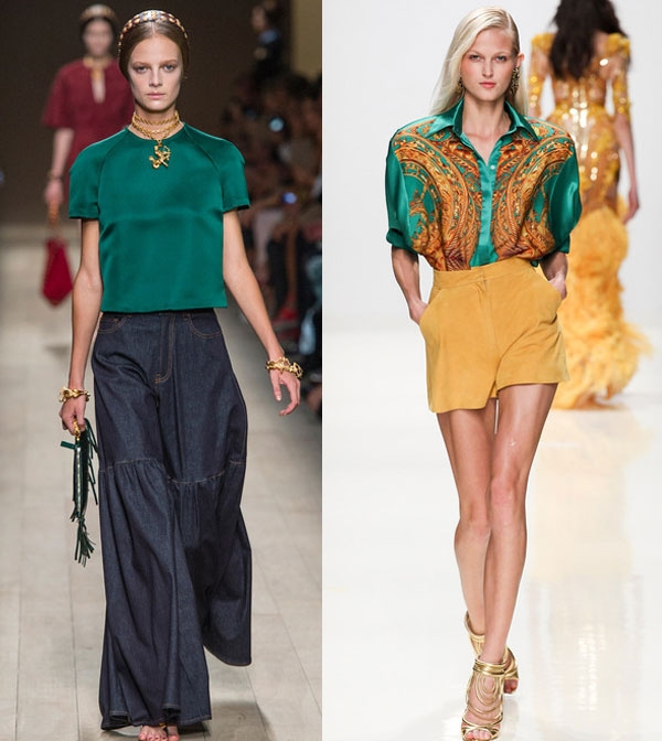 Мода Блузки 2014