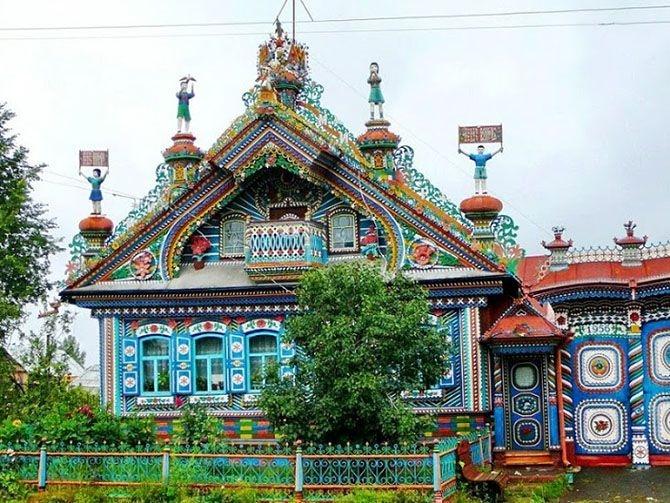 Дом в деревне Кунара1 (670x503, 289Kb)