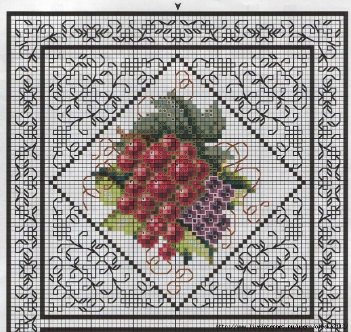 Блекворк фрукты1 (700x663, 532Kb)