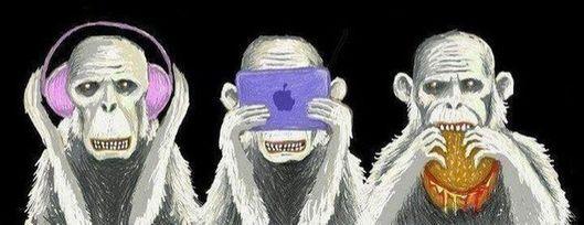 обезьянки (529x204, 31Kb)