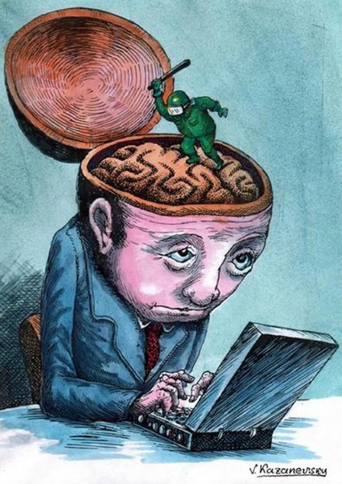 казаневский владимир карикатура