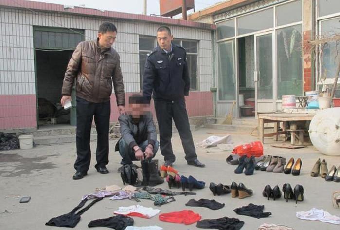 В Китае задержали фетишиста с коллекцией женской обуви и белья