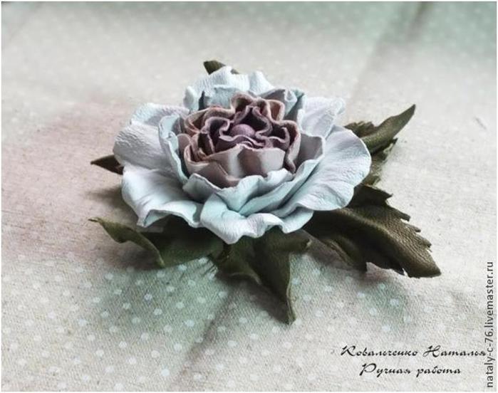 <розы из кожи - Самое