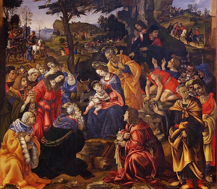 578px-Filippino_Lippi_-_Adorazione_dei_Magi_-_Google_Art_Project (700x609, 224Kb)